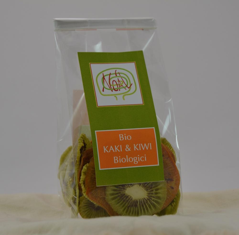 Kaki e Kiwi bio essiccati