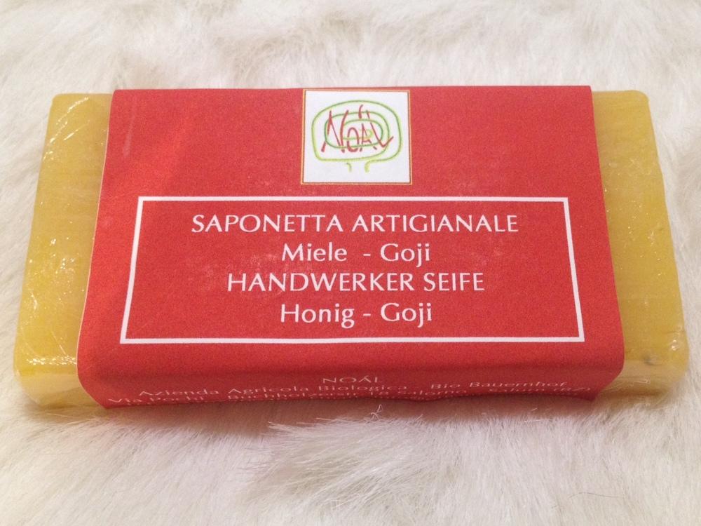 Saponetta artigianale Goji