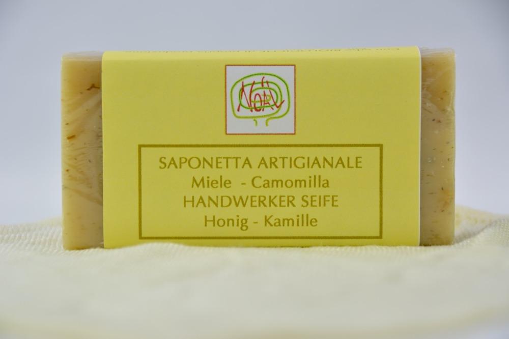 Handwerklich erzeugte Seife - Kamille - 1