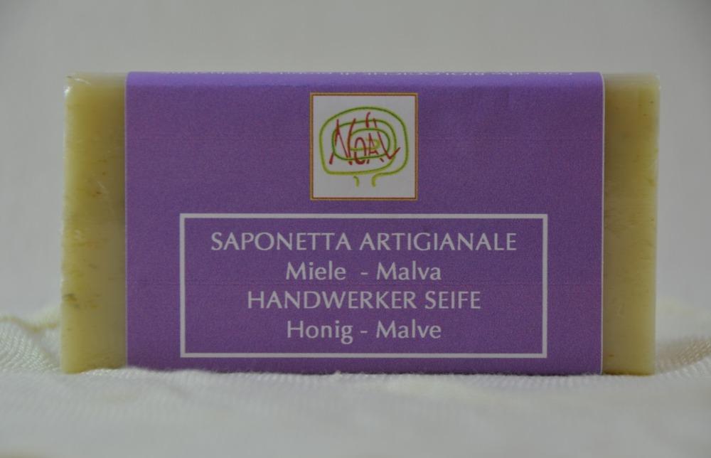 Handwerklich erzeugte Seife - Malve - 1