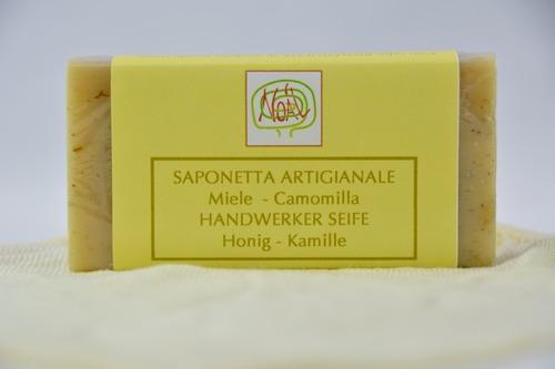 Handwerklich erzeugte Seife - Kamille