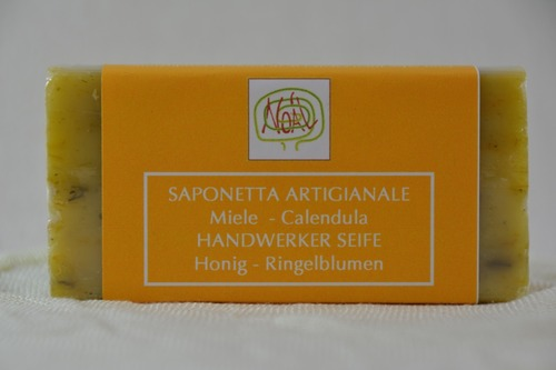 Handwerklich erzeugte Seife - Ringelblume